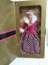 Avon Special Edition Winter Rhapsody Mattel Barbie Doll Collectors