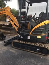 Hyundai Mini Excavator R25Z-9Ak Used We offer leasing