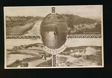 Somerset CLEVEDON M/view used c1930 RP PPC