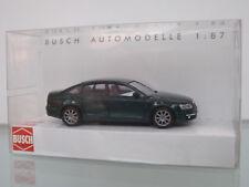 Busch 49600-1 H0 1:87 Audi A6 Sedán , Verde - Nuevo en Emb. Orig.