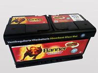 Banner AGM Vlies Batterie 12V 92Ah 92 Ah 59201