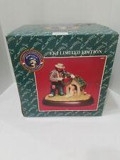 Flambro Emmett Kelly Jr Limited Ed Spirit Of Christmas Xiv 9961. 24 of 3500.