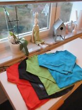 3* Jako-o + H&M Langarmshirt Gr. 116 122 schwarz türkis grün orange T-Shirt