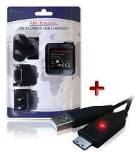 SAMSUNG DIGIMAX PL210/PL211/PL221 Appareil Photo Numérique Câble USB + Chargeur Batterie