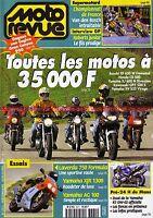 MOTO REVUE 3371 KAWASAKI GPZ 500 YAMAHA XJ 600 XV 535 R7 HONDA CB LAVERDA 750