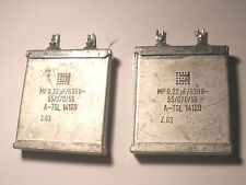 (2) 0.22uF 630V OIL Capacitor Coupling 2A3 300B VT-52 245 371A Tube AMPLIFIER