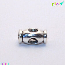 10 x decorative Tibetan style silver alloy bead, 11mm x 7mm 4mm hole