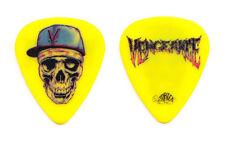 Avenged Sevenfold Zacky Vengeance Yellow Guitar Pick 2010 Tour