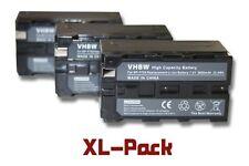3x BATERIA 3600mAh PARA SONY DCR-VX (MiniDV) DCR-VX1000 DCR-VX2000