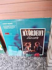 Horst Wende: Accordeon a la carte, eine Schallplatte