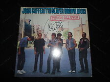 """John Cafferty and the Beaver Brown Band signed """"Roadhouse"""" record Rocky Lp"""