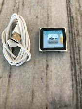 Apple iPod nano 6th Generation Silver (8 GB) Fully functional