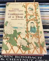Confessions of a Thug Philip Meadows Taylor 1968 Indian Thugee Victorian Crime