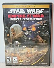 Star Wars: Empire at War -- Forces of Corruption 2 Disc Expansion Complete 2006