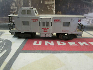 S Gauge American Flyer Lines Lighted Caboose #24633 by American Flyer