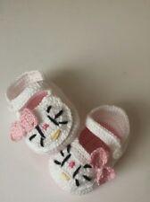 scarpine neonata uncinetto di cotone baby da 0 a 3 mesi