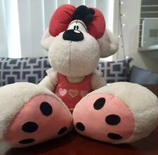 Diddlina Plush Toy White Mouse Thomas Goletz Character Toy 26cm Tall