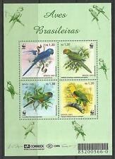 BRAZIL. 2001. Birds Miniature Sheet. SG: MS3207. Mint Never Hinged.