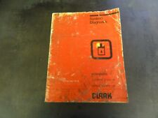Clark ECA EPA 17 thru 30 Hydraulics System Diagnosis Literature Manual