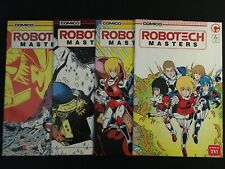 ROBOTECH MASTERS #1, 2, 3, 4