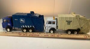 Matchbox super king GARBAGE truck BFI and City Sanitation  K133 Lot of 2  RARE