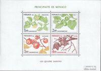 Monaco Block18 (kompl.Ausg.) postfrisch 1981 Vier Jahreszeiten