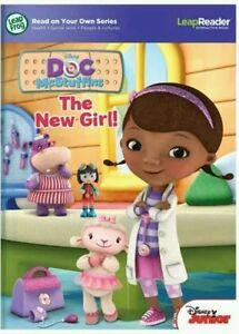 NEW !!!! LeapReader book  Disney Doc McStuffins The New Girl Leap Frog Book only