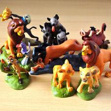 Cartoon Lion King Simba Nala Playset 9 Action Figure Movie Kids Toy Doll Set New