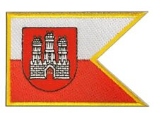 Slowakei Bratislava Pressburg Aufnäher Flaggen Fahnen Patch Aufbügler 8x6cm