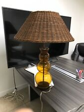 Corner Glass Lamp