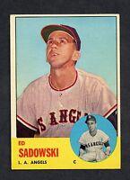 1963 Topps #527 Ed Sadowski EXMT  C00007712