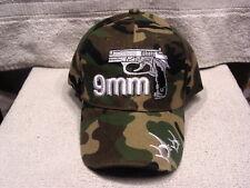9MM PISTOL GUN BULLET BASEBALL CAP ( CAMOUFLAGE )