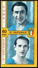 PANINI CALCIATORI 1969/70 - ITALIA - COMBI / BERNARDINI - NUOVA
