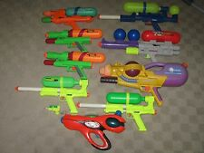 Large Broken Super Soaker Water Gun Lot 50 55 65 75 100 XP 150 CPS 1200