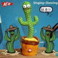 FUNNY Dancing Cactus Plush Toy Home Decor UK