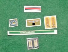 1/6 WW2 German Africa Korps DAK insignia, badge and patches