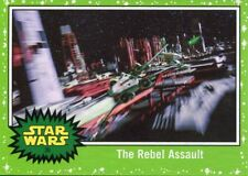 Star Wars The Last Jedi Green Base Card #36 The Rebel Assault