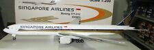 JC Wings 1/200 Scale - 777-312 Singapore Airlines  #9V-SYH-   -  XX2808