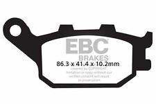 FIT YAMAHA FZ6 S2 - Naked/Non ABS/4 Pisto 07>09 EBC Sintered Pad Set Rear