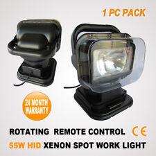 55W HID XENON ROTATING REMOTE CONTROL SEARCH AUTO/WORK/BOAT LIGHT