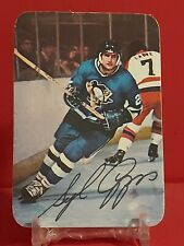 New listing 🔥 1976-77 Topps Glossy Insert NHL Ice Hockey Card #13 SYL APPS PENGUINS 🔥