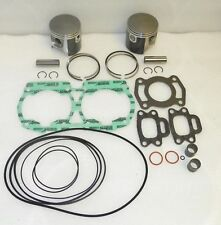 Sea-Doo GTS 580 587 Top End Rebuild Kit Pistons,Gaskets,Bearings Std Stock 76mm