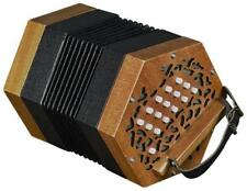 30 Button Anglo Concertina, Case, Tune Book