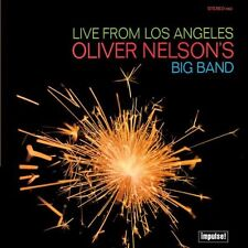 Oliver Nelson Live From Los Angeles Ed Thigpen Billy Byers Bill Perkins IMPULSE
