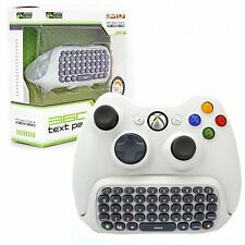 Text Chat Messaging Pad Chatpad Keyboard for Xbox 360 Live Games Controller -WHT