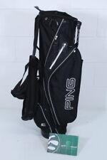 PING E2 STAND BAG / BLACK / 5-WAY DIVIDER / PIGHOO063