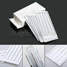 Professional Sterile Disposable Stainless Steel 3RL Tattoo Needles Medical Tool