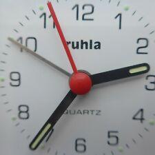 roter, praktischer RUHLA  WECKER, Erinnerung an die DDR - Zeit, gute Funktion