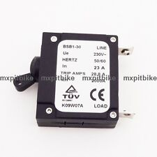 23 AMP 23A Generator Circuit Breaker 28.8 Trip Amps 230V Hertz 50/60