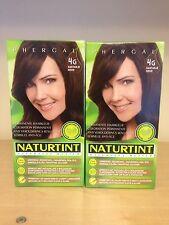 Naturtint Permanent Hair Colourant 2 Packs X 165 Ml Golden Chestnut 4G